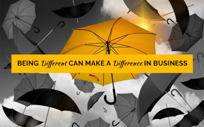 Being Different can Make a Difference in Business