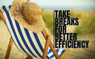 Take Breaks for Better Efficiency