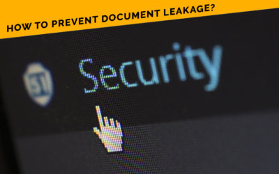 How To Prevent Document Leakage?